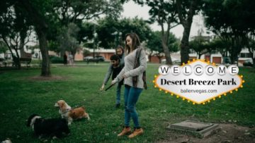 Desert Breeze Park is in Spring Valley, Las Vegas, NV at 8275 Spring Mountain Rd, Las Vegas, NV 89147. It's one of the largest parks here in Clark County and is 24-acres. Park hours are 6 am to 11 pm.