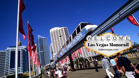 The futuristic Las Vegas monorail started operating in late December 2004. The monorail has seven stations that connect the major Strip resorts. It is a 3.9-mile Z-shaped route that stops at the MGM Grand (South Strip), Bally's/ Paris (Center Strip), Caesars Palace – Flamingo, Las Vegas Convention Center, Harrah's – LINQ (North Strip), the SLS, and the Westgate.