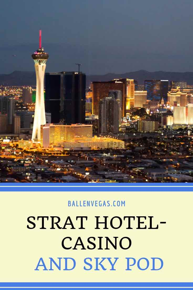 The Strat Hotel Casino and Skypod, previously called The Stratosphere Hotel offers amusement rides, delicious dining, entertaining shows, and thrilling nightlife in addition to its famous observation tower which is the tallest in the united states. See coupons and deals below.