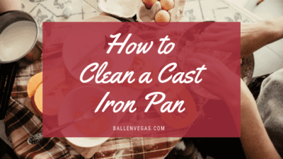 Even though we know our cast iron pans are going to look bad, most of us want to keep them looking great and at least rust free. Here's how to easily clean a cast iron pan.