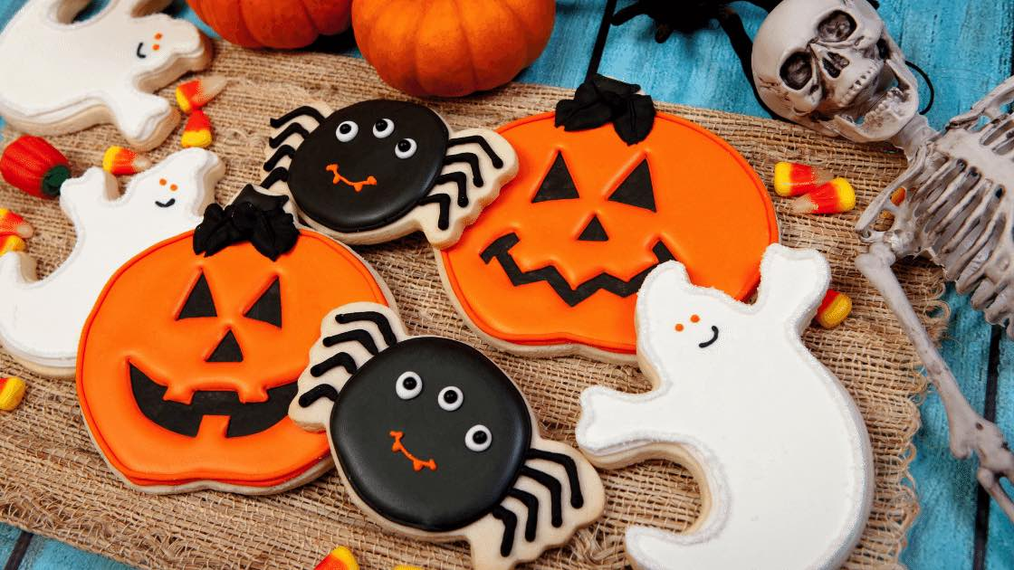 Halloween Cookie Decorating Class on September 2th at DownEast Home and Clothing