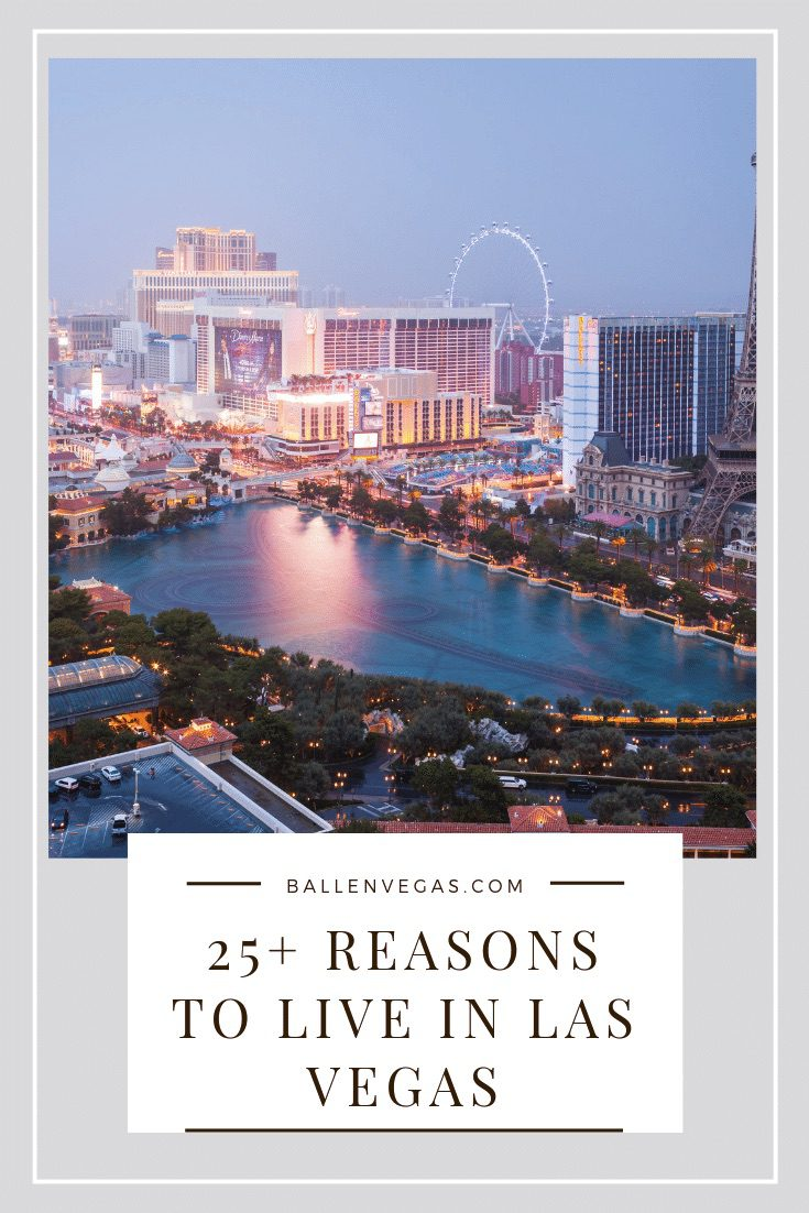 Las Vegas Strip, Obervation wheel, paris hotel, bellagio and more to show living in las vegas