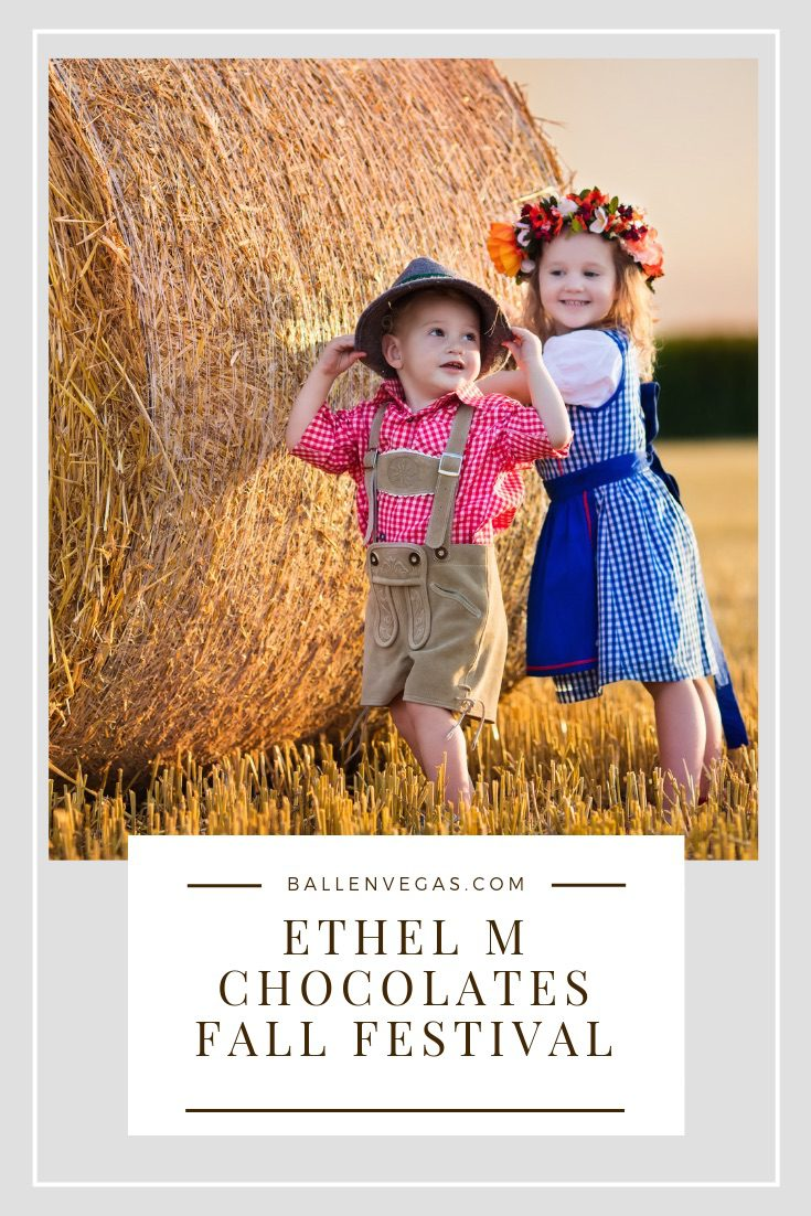 Ethel M Chocolates is welcoming the change of seasons with their 1st first of a kind Fall Festival. Bring the family to the Cactus Garden and enjoy seasonal treats, a kid-friendly hay maze, a bounce house, photo ops and a DJ spinning the tunes to ring in fall.