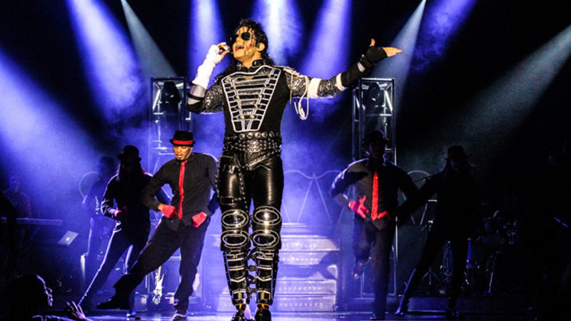Fans can see everything they love about the King of Pop in MJ Live at the Stratosphere Theater. ... Backed by an onstage band and an entourage of dancers, MJ Live is a family-friendly show fit for those who grew up with the King of Pop as well as for those who have never heard his music before.