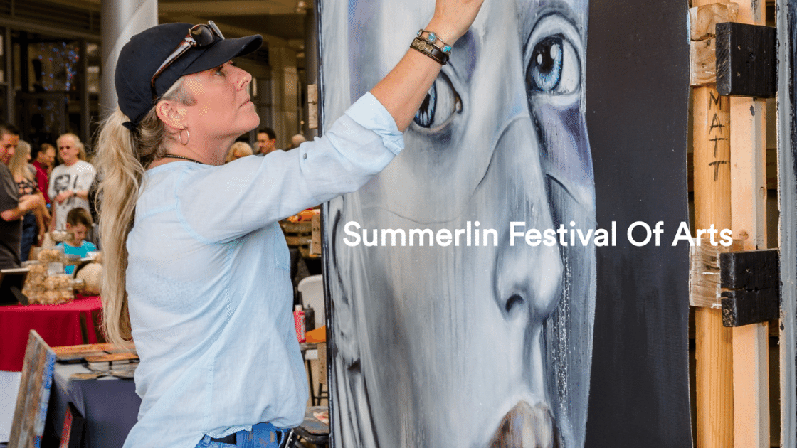 Explore your creative side and let your imagination run wild. The Summerlin® Festival of Arts is complimentary outdoor festival is a popular and well-established local event offering two days of art celebration on The Lawn in beautiful Downtown Summerlin®'s open-air fashion, dining, and entertainment venue.