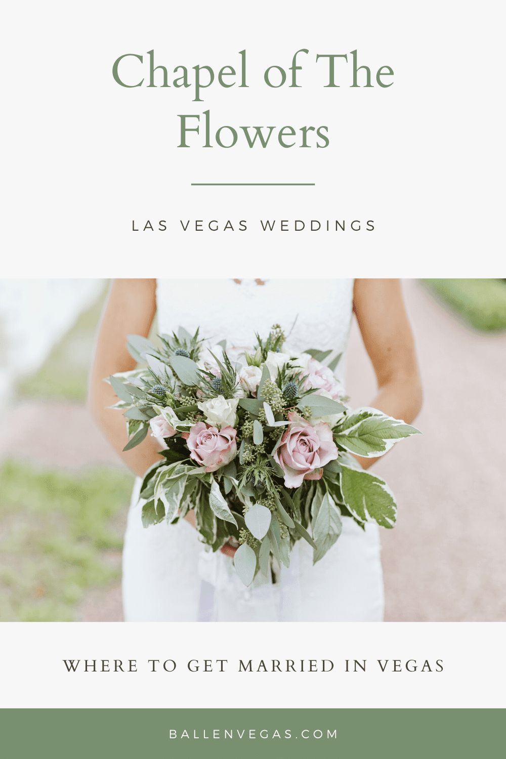 Chapel of the Flowers, a place to get married in Las Vegas, has been the recipient of several awards and featured in The Knot's Best of Weddings feature for several years.