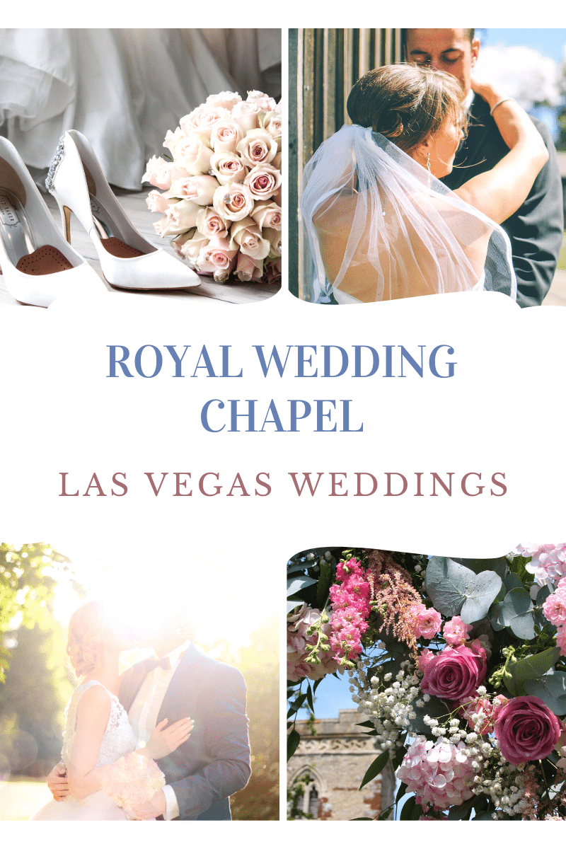 Royal Wedding Chapel is inside the Thunderbird Lounge and Hotel. Enjoy a completely customized experience including one of 4 chapel settings including the glitzy, crystal-filled Royal Crystal Wedding Chapel or the flower-filled Royal Garden of Love.