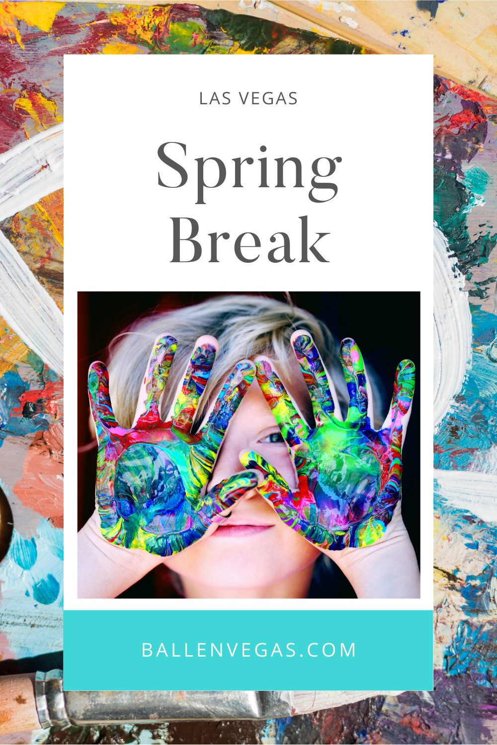 Spring Break in Las Vegas changes every year as does the Easter Holiday. You can use the link to get the CCSD school calendar.