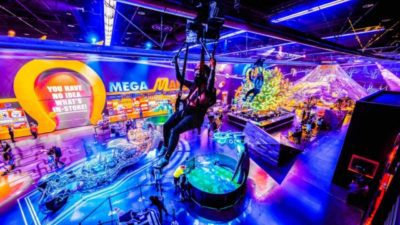 Area 15 is a giant immersive playground for adults and kids that features interactive exhibitions, unique experiences, one-of-a-kind shops, and quirky bars and restaurants.