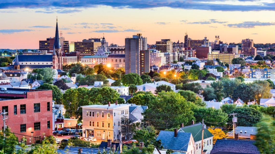 Portland is the most populous city in Maine, with a population of over 66K as of 2019.
