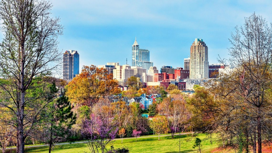 Situated in Wake County, Raleigh is considered one of the more popular places to live in North Carolina. It has a mix of urban and suburban areas, with plenty of parks and restaurants. The public schools are highly rated in Raleigh.