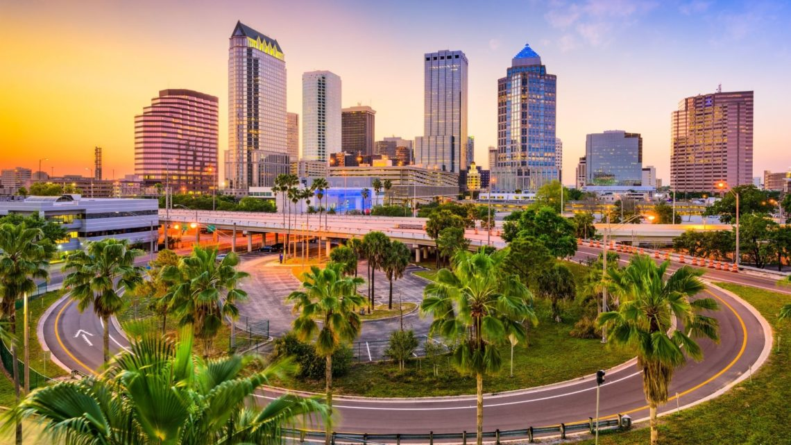 Tampa is one of the most beautiful places to live in Florida and offers plenty of commerce, with restaurants and bars. There are plenty of parks for families, and the schools tend to be above average.