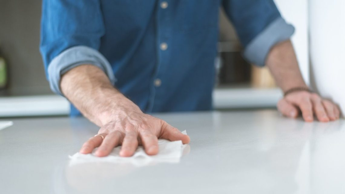 Here are some reasons you should stay away from oven cleaners for your kitchen countertops and choose a cleaner for the counter's material.